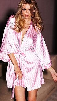 Women's Robes & Slippers: Kimonos, Terry, Silk & Fleece Robes & Slippers at Victoria's Secret