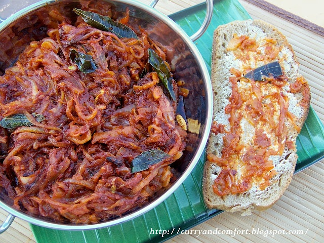 Deviled Onion Sambal- Sri Lankan (Spicy) - YES please! by @CurryandComfort
