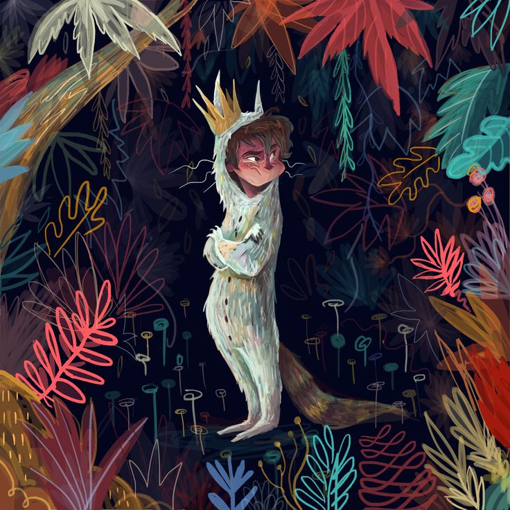 """""""Oh, please don't go—we'll eat you up—we love you so!""""―Maurice Sendak, by KARL JAMES MOUNTFORD"""