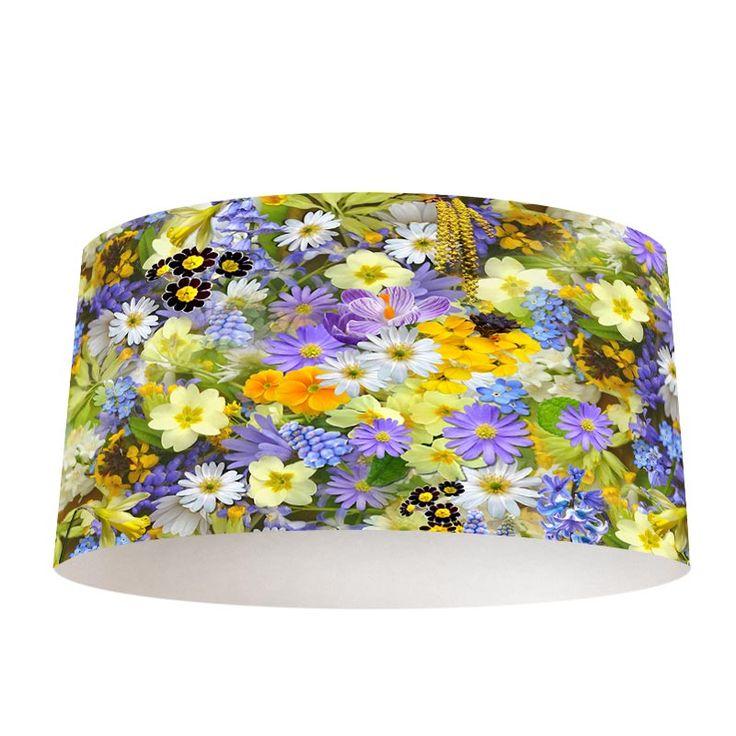 Lampenkap Veldbloemen   Bestel lampenkappen voorzien van digitale print op hoogwaardige kunststof vandaag nog bij YouPri. Verkrijgbaar in verschillende maten en geschikt voor diverse ruimtes. Te bestellen met een eigen afbeelding of een print uit onze collectie. #lampenkap #lampenkappen #lamp #interieur #interieurdesign #woonruimte #slaapkamer #maken #pimpen #diy #modern #bekleden #design #foto #natuur #bloemen #kleurrijk #bloemenzee #gekleurd #natuurlijk