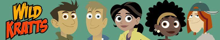 Wild Kratt's Series Episode List and Animals in each. Homeschool, School, Animals, Science, Netflix, PBS, Hulu