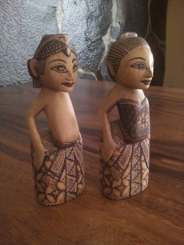 Batik Cangik doll Wood