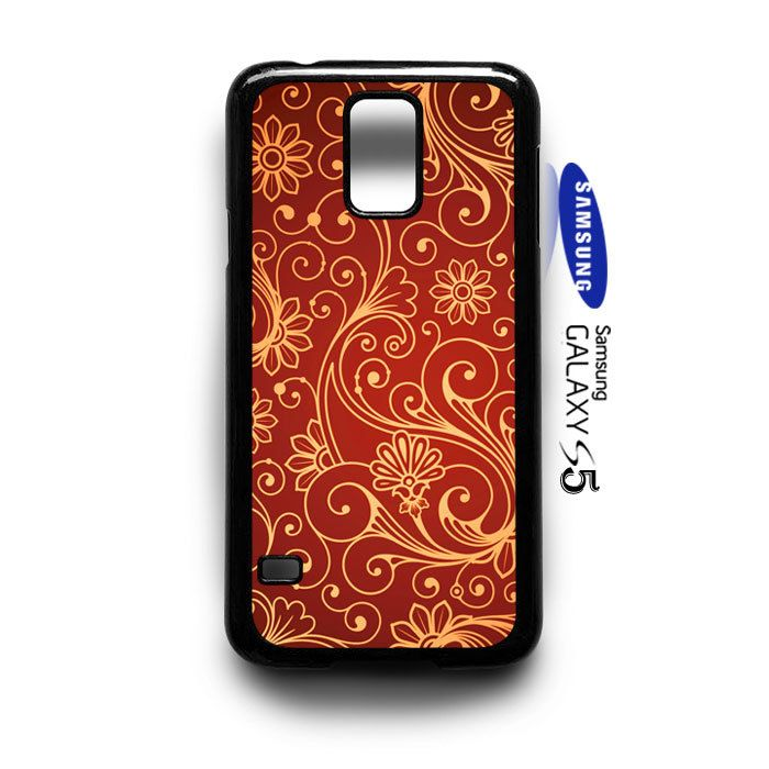 Beautifull Seamless Pattern Samsung Galaxy S5 Case Cover - PDA Accessories