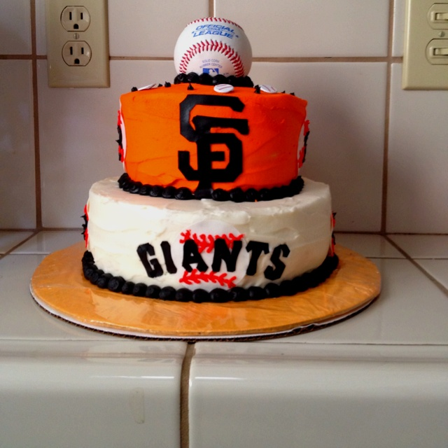 Birthday Cake Design San Francisco : SF Giants Cake Cake Pinterest