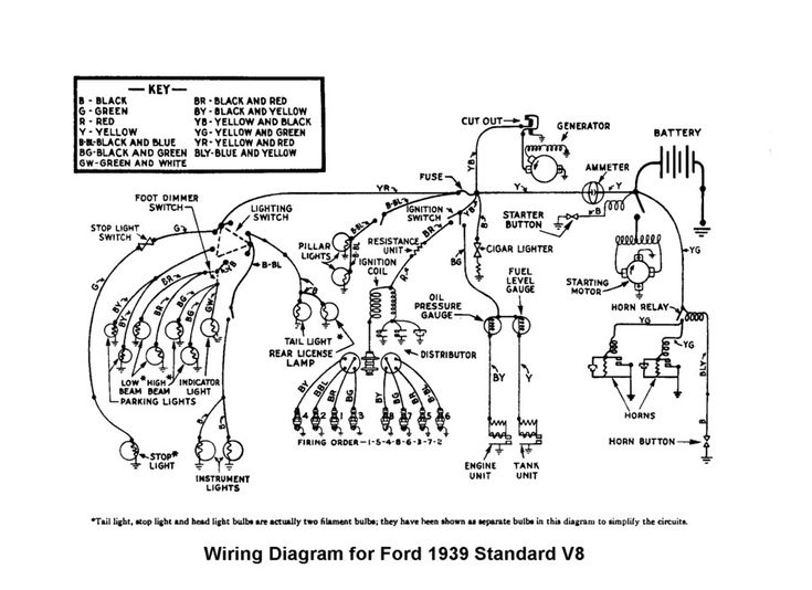 1938 ford wiring