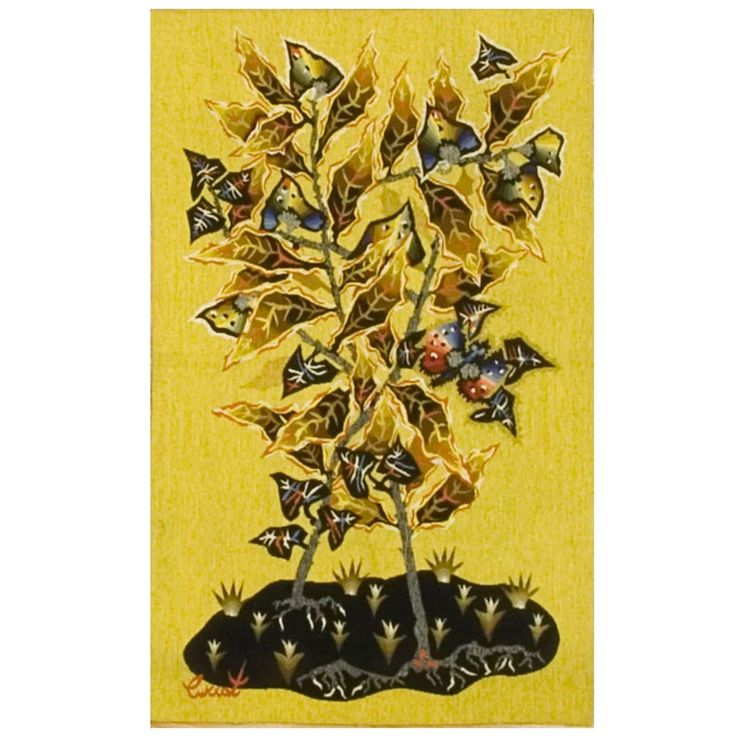 French Tapestry by Jean Lurcat, circa 1940 1
