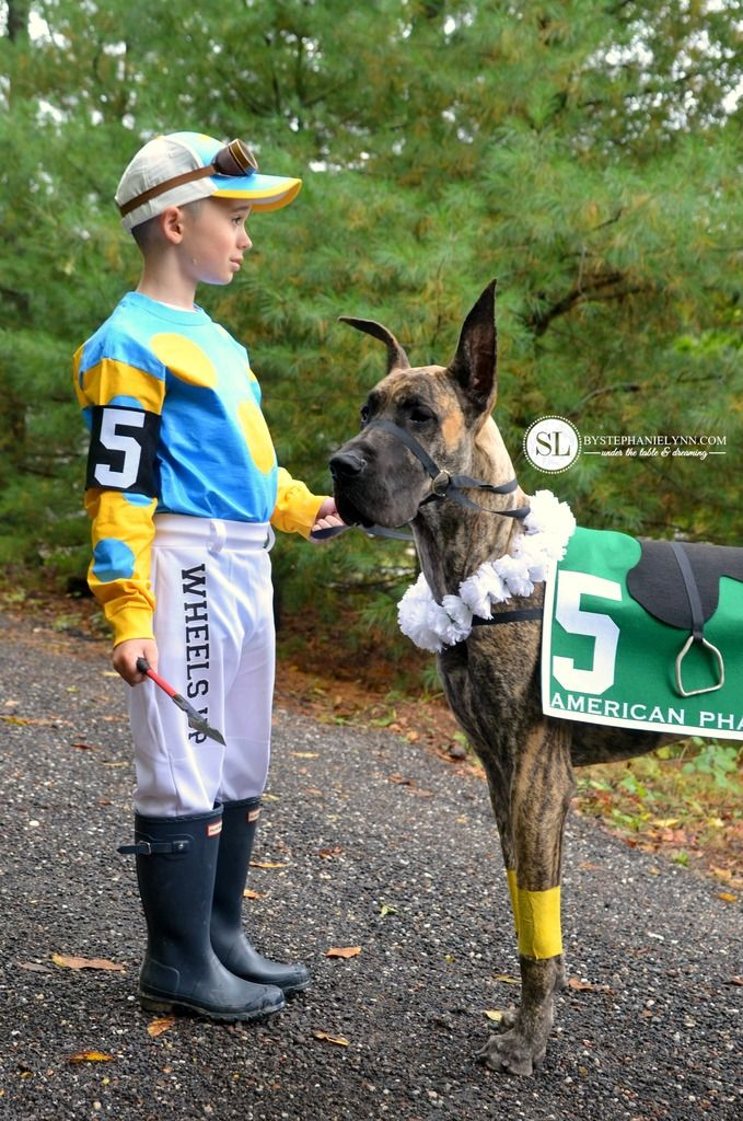DIY Race Horse and Jockey Costume Michaels Makers #michaelsmakers
