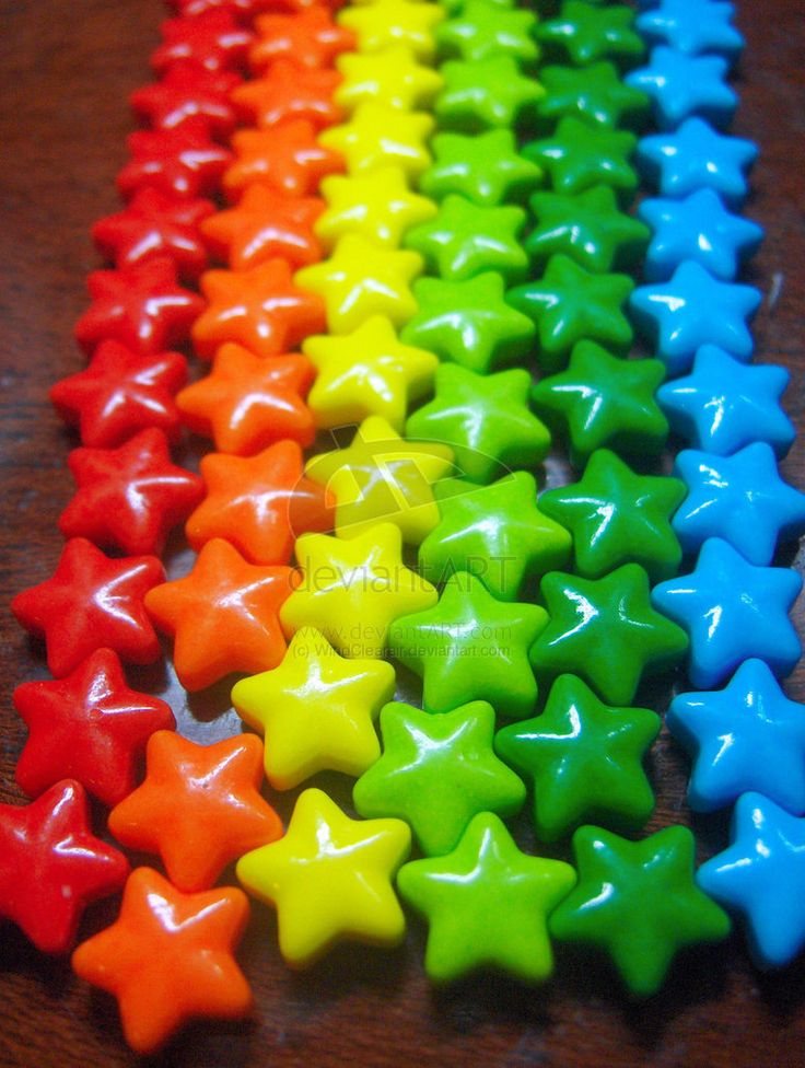 I ❤ COLOR MIX ❤ AAAAAAHH!!! Estrellas, arcoiris