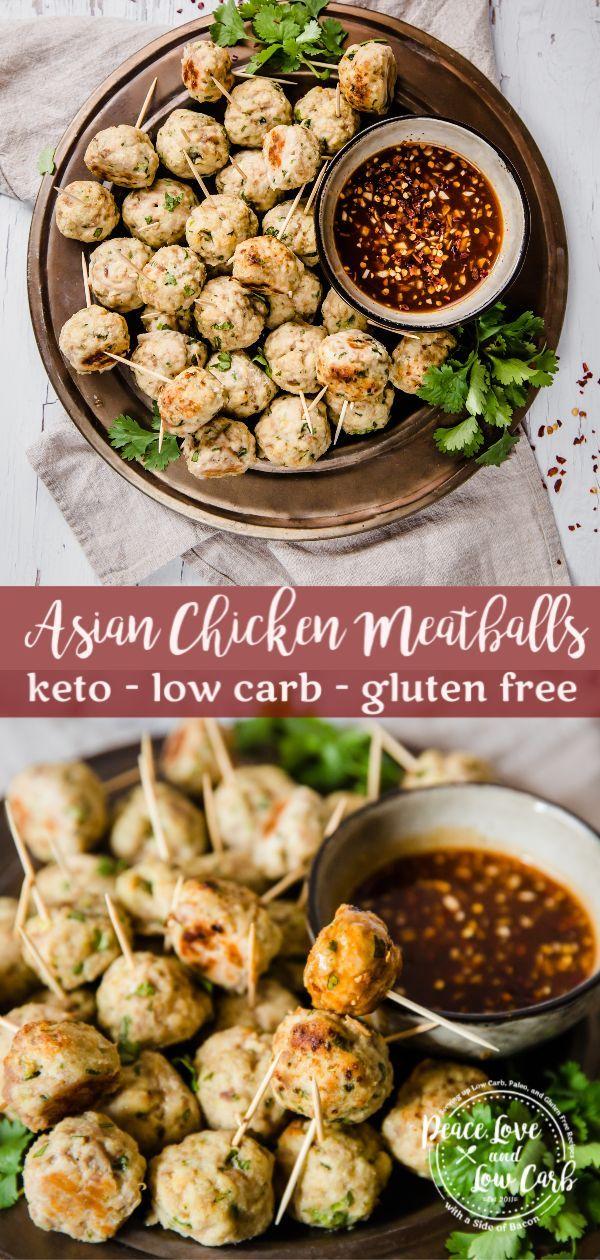 Keto Asian Chicken Meatballs