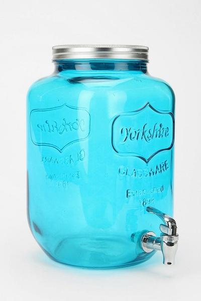 Yorkshire Glass Drink Dispenser: Drink Dispenser, Oversized Mason, Urban Outfitters, Yorkshire Glasses, Summer Parties, Glasses Drinks, Mason Jars Drinks, Beverage Dispenser, Drinks Dispenser