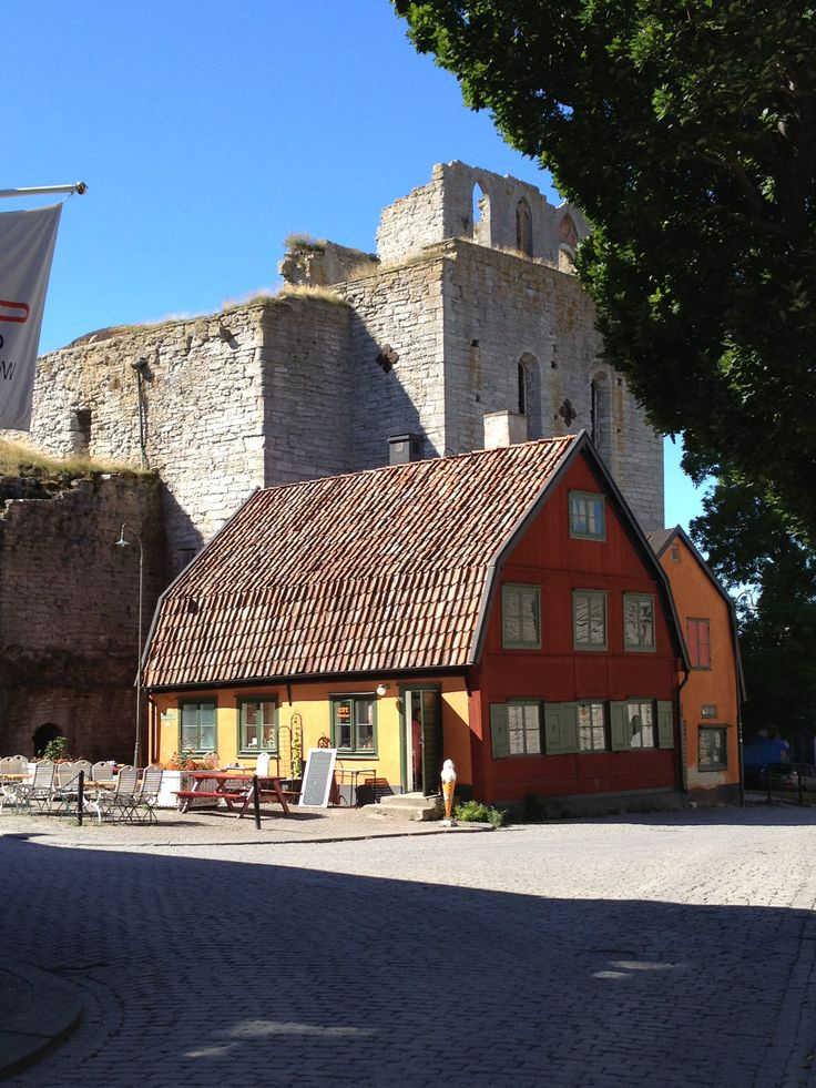 Visby, Gotland, Sweden. Late summer sun. We deliver advertising campaigns throughout the UK and Europe, but we also welcome enquiries from around the globe too! For all of your advertising needs at unbeatable rates - www.adsdirect.org.uk