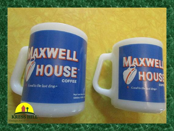 RARE Maxwell House Good To the Last Drop Retro by KressHillVintage, $98.00