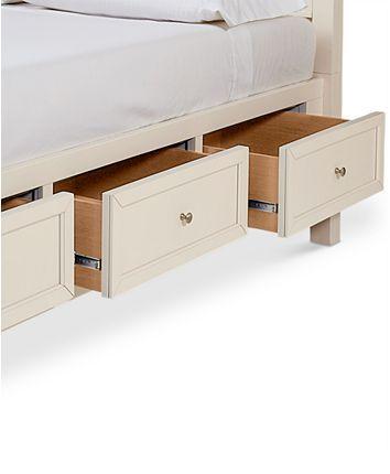 Furniture Sanibel Storage California King Bed, Created for ...