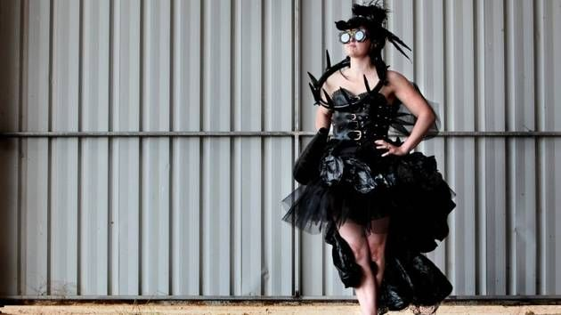 Farm Fashion: The Countryman and West photographer Danella Bevis had great fun taking these pictures of Ag Art.... so we put them in a gallery!