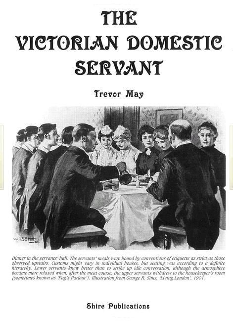 Victorian domestic servant by Trevor May