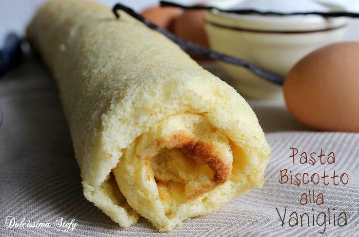 La Pasta Biscotto alla Vaniglia è perfetta per i rotoli o per delle mini torte a strati :)