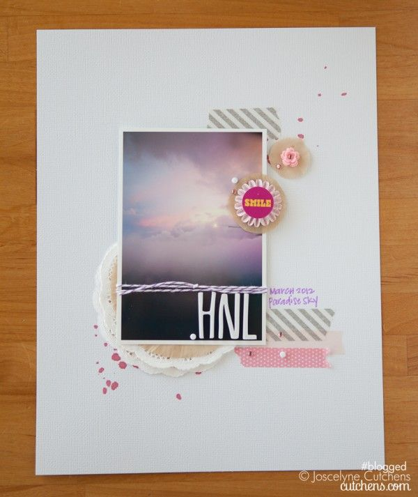 So Simple!: Paper Craft, Color, Papercraft Scrapbook, Scrapbook Layout, The