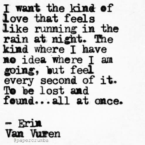 """Wow, I just love being floored by beautiful words."" F.F. Vincent Poem by Erin Van Vuren"