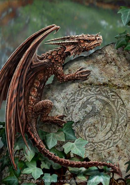 Spiny Woodland Hopper | Anne Stokes: Baby Dragon, Welsh Dragon, Fantasy Art, The Queen, Anne Stokes, Celtic Dragon, Dragon Art, Magic Creatures, Peanut Butter