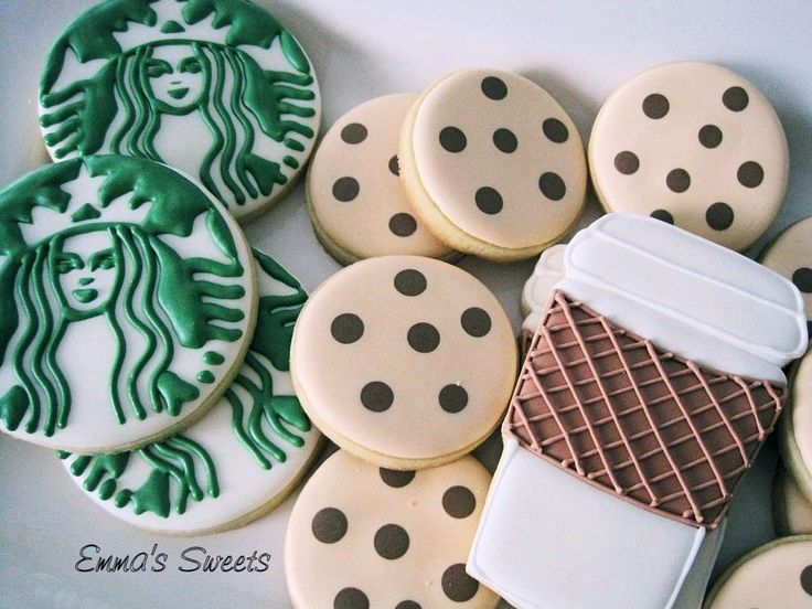 Starbucks cookie set       Emma's Sweets