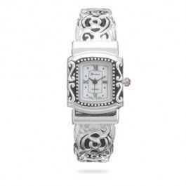 Ornate Fashion Cuff Watch