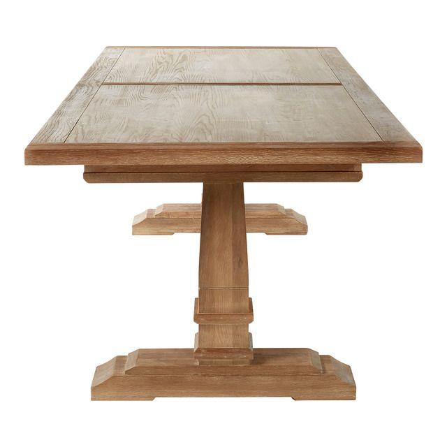 Mesa comedor de roble Vintage en 2020 | Grandes mesas de ...