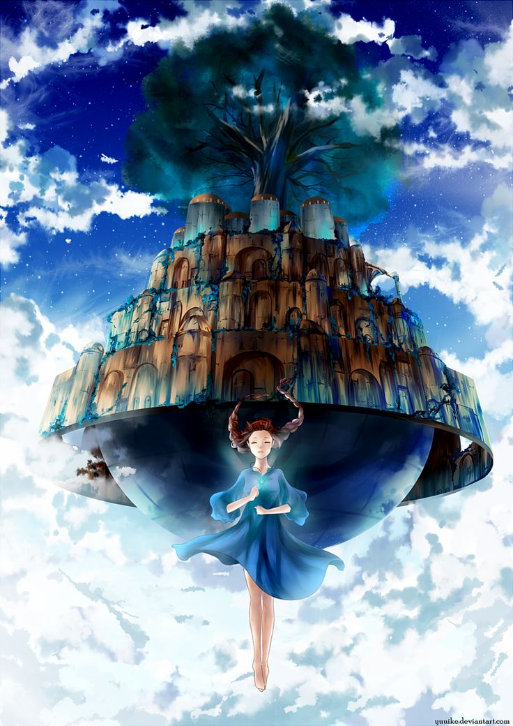 Laputa: Castle in the Sky by yuuike.deviantart.com on @DeviantArt