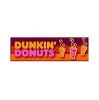 Dunkin Donuts gets the job done in the morning.