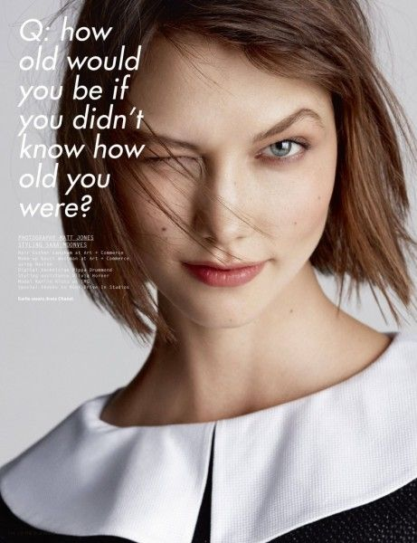 Crazy for Karlie – American beauty Karlie Kloss graces the pages of i-D Magazine's spring issue in these dynamic studio images. Matt Jones photographs the model with styling by Sara Moonves featuring the work of Gareth Pugh, Vivienne Westwood, Alexander McQueen and Marc Jacobs amongst others. With minimal makeup and hair styling, Karlie shines in …