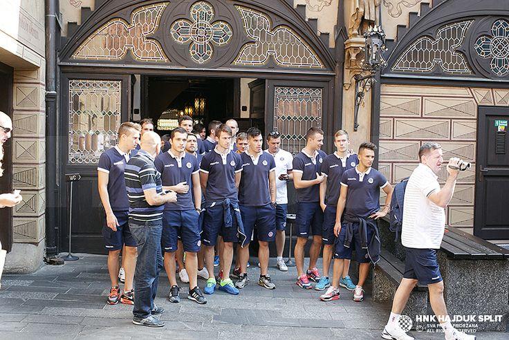 Hajdukovci u Pragom • HNK Hajduk Split
