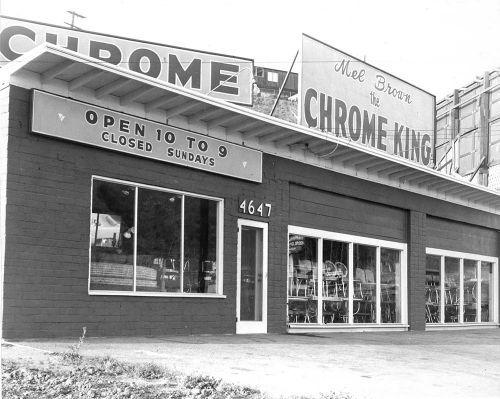 Mel Brown Chrome King