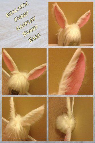 Realistic Furry Cosplay Bunny Ears