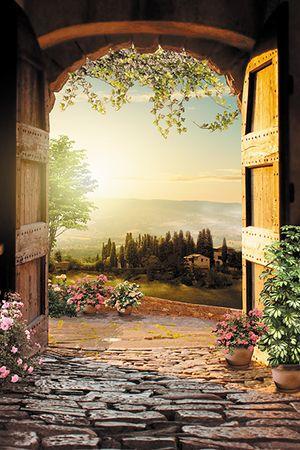 Фреска - Тосканский пейзаж