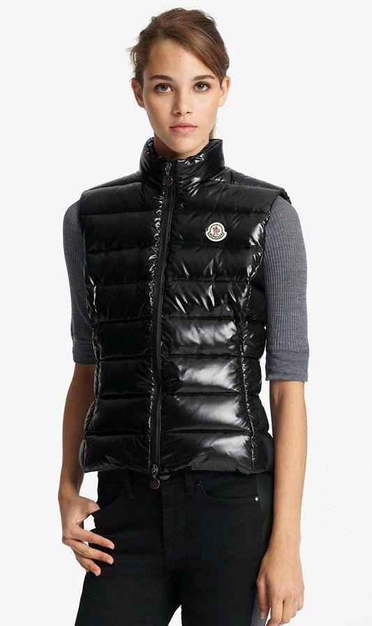 moncler womens down vest