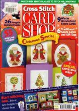Cross Stitch Card Shop Issue 15 November/December 2000 Saved