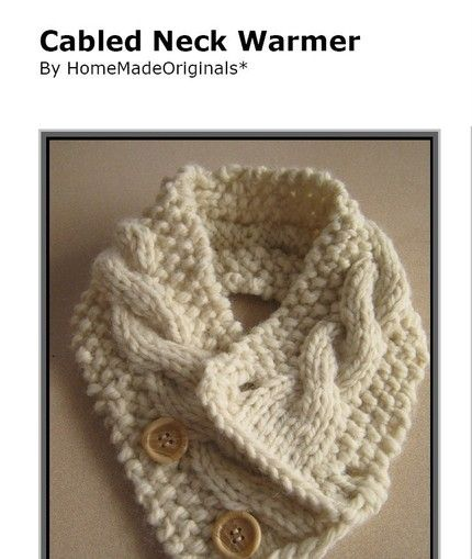 Love this! Wish I could knit instead of only crochet!