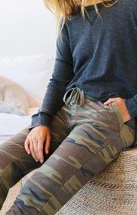 The Camo Jogger Pant / Z SUPPLY