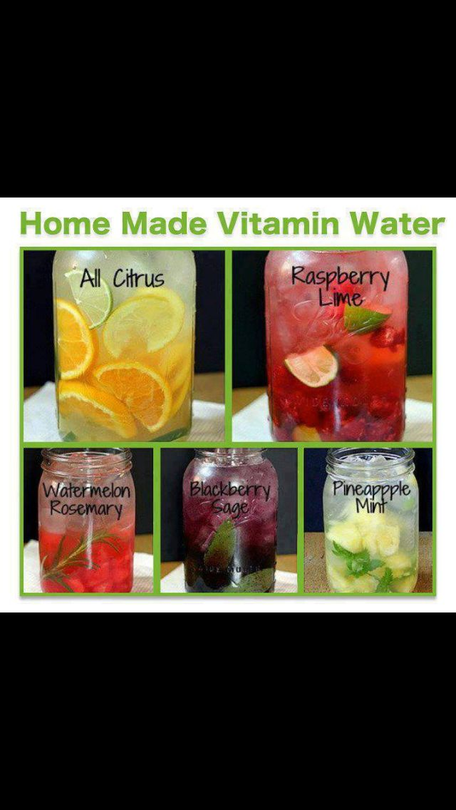 Homemade Vitamin Water From Ashy Bines Facebook page