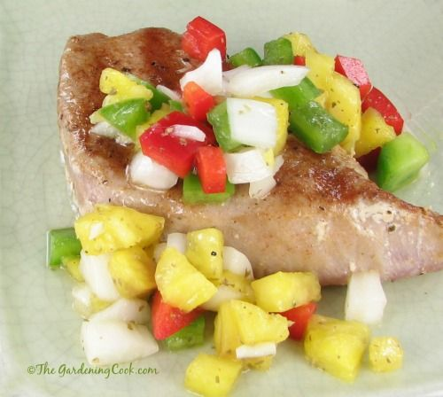 I love yellow fin tuna. It is also known as Ahi Tuna and can be prepared in so many ways. Today's recipe for yellow fin tuna with pineapple salsa is easy to make and the pineapple adds a great freshness to the recipe. The salsa is super easy to make. It is so quick that…Read more