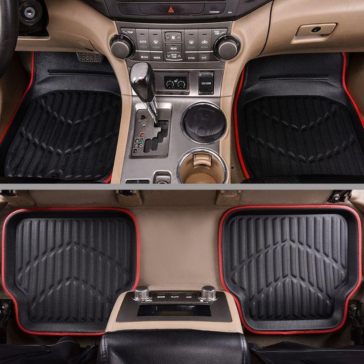 Buy online US $30.59  Car-pass Universal Car Floor Mats For Auto Anti-Slip Mat ,Red Black Car Floot Mats, Car Styling Interior Auto floor Mats  #Car-pass #Universal #Floor #Mats #Auto #Anti-Slip #-Red #Black #Floot #Mats- #Styling #Interior #floor