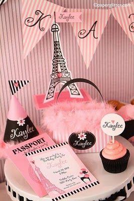 Pink Paris Poodle Party
