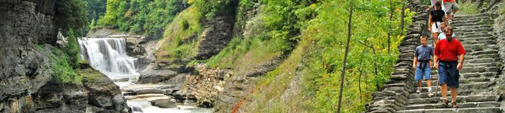 Letchworth State Park - The Grand Canyon of the East, located in the southwestern tip of ny