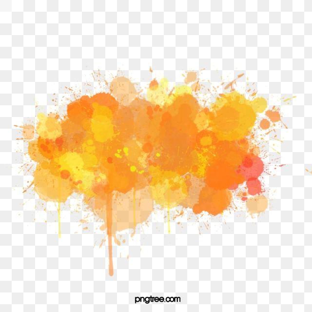 Color Splash Element Element Spatter Inkjet Printing Png Transparent Image And Clipart For Free Download Color Splash Watercolor Splash Watercolor Images