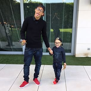 neymar and davi via instagram ♥ 06.04.15