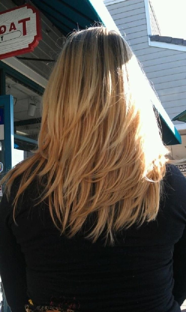 Medium Length Layered Hairstyles Back View 2015 Best