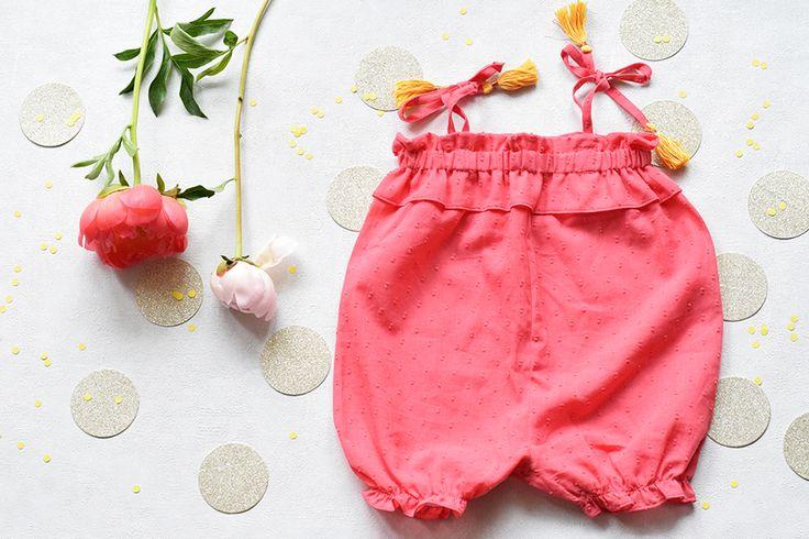 """""""Coudre des vêtements pour bébé et réaliser de jolies finitions"""", cours de couture sur Artesane.com. Artesane le site de cours vidéo de loisirs créatifs. Cours de couture en ligne, apprendre à coudre vêtements pour bébé, couture bébé"""