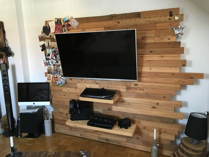best 25 tv wand holz ideas on pinterest tv wand do it. Black Bedroom Furniture Sets. Home Design Ideas