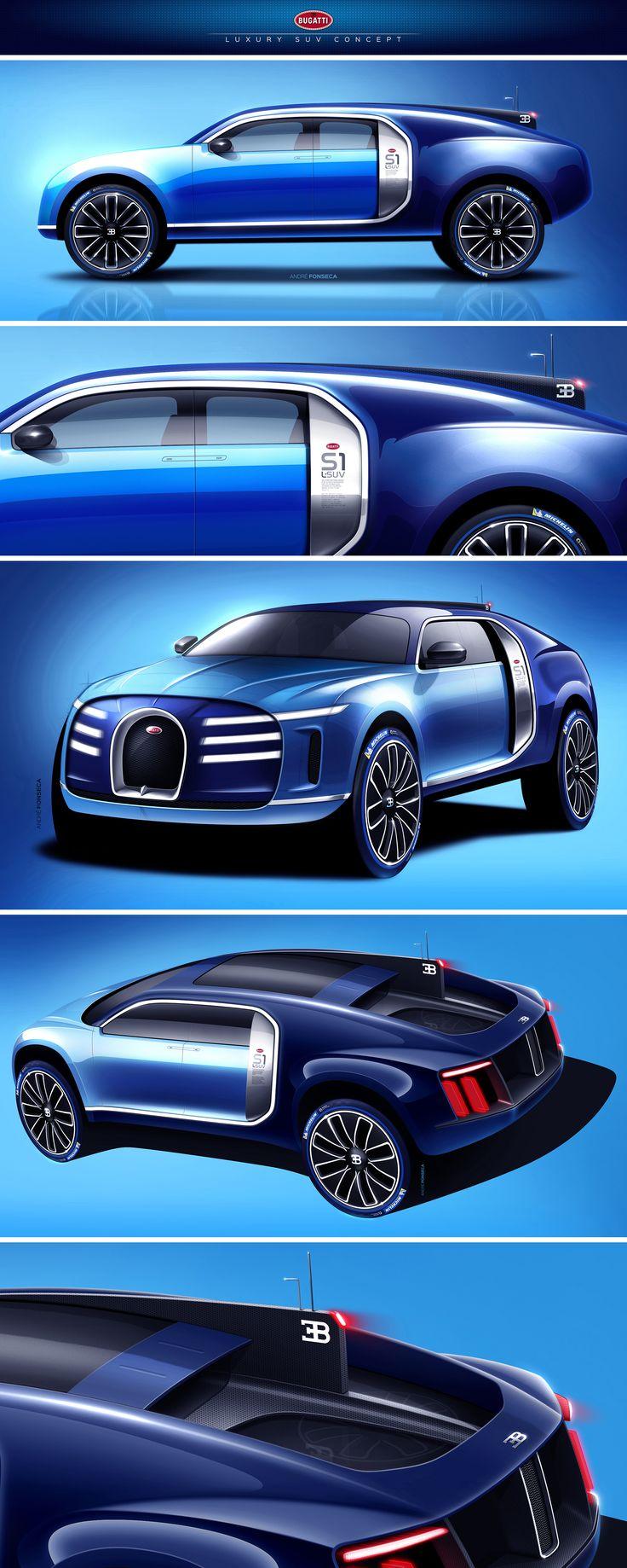 Bugatti Luxury SUV Concept