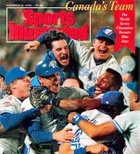 Toronto Blue Jays become the 1st non-American team to win the World Series.