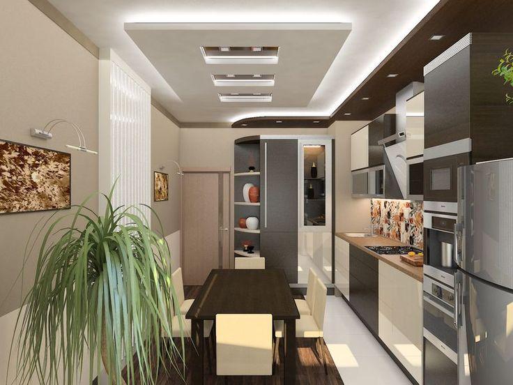 Современный дизайн кухни, дизайн кухни в стиле Модерн   ТЕХНОГРАФ